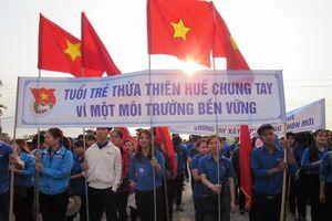 Huế: Phát động tháng thanh niên 'Thanh niên tình nguyện – Hành động để Thừa Thiên Huế thêm Xanh – Sạch – Sáng'
