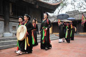 Lễ hội Thổ Hà - 'Di sản văn hóa phi vật thể cấp quốc gia'
