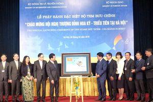 Phát hành bộ tem đặc biệt chào mừng Hội nghị thượng đỉnh Hoa Kỳ - Triều Tiên tại Hà Nội