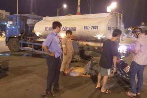 Va chạm xe bồn tưới nước cây xanh, người đàn ông bị thương nặng