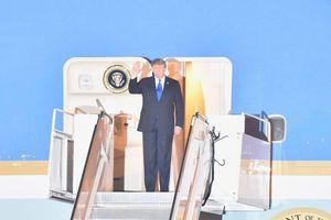 Tổng thống Donal Trump đã đến Hà Nội
