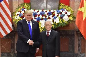 Tổng Bí thư, Chủ tịch nước Nguyễn Phú Trọng hội đàm với Tổng thống Donald Trump