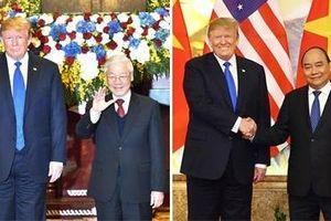 Lãnh đạo Đảng, Chính phủ gặp Tổng thống Donald Trump