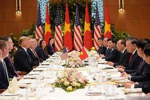 Tổng thống Donald Trump cảm ơn Việt Nam đã hỗ trợ rất chu đáo cho Thượng đỉnh Mỹ - Triều Tiên