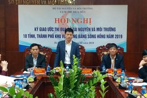 Ký giao ước thi đua ngành TN&MT vùng Đồng bằng Sông Hồng