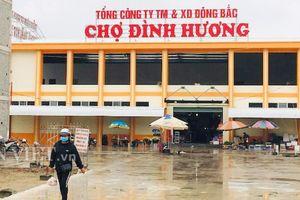 Thanh Hóa: Chợ đang xây, Cty Đông Bắc 'lùa' tiểu thương vào thu tiền