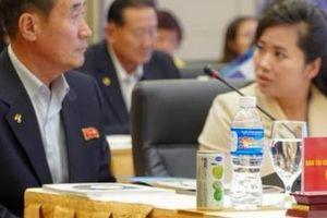 Bên lề thượng đỉnh Mỹ Triều, phái đoàn Triều Tiên đến thăm và làm việc với Hải Phòng