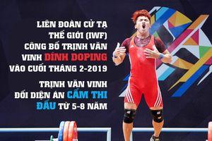 Cú sốc cho cử tạ Việt Nam: Nhà vô địch thế giới Trịnh Văn Vinh dính doping