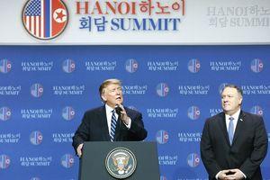 Hội nghị thượng đỉnh Mỹ-Triều Tiên lần thứ hai kết thúc mà không có Tuyên bố chung