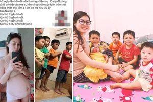 Xôn xao thiếu phụ xinh đẹp 25 tuổi đã có 5 con: Sinh đi đừng sợ!