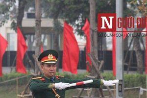 Khu công nghệ cao Hòa Lạc trang hoàng đón phái đoàn Triều Tiên