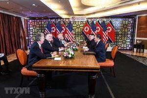 Tổng thống Donald Trump: Triều Tiên muốn dỡ bỏ hoàn toàn các lệnh trừng phạt,chúng tôi chưa thể đáp ứng điều đó
