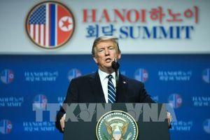 Thượng đỉnh Mỹ - Triều lần hai: Tổng thống Mỹ tiến hành họp báo