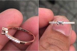 Được người yêu tặng nhẫn kim cương Cartier gần 75 triệu nhưng tưởng hàng fake 500 nghìn, cô gái phũ phàng chia tay và cái kết cười ra nước mắt