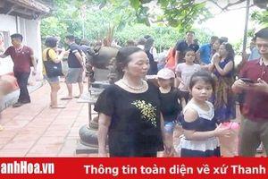 Công nhận điểm du lịch đền Cô Tiên, phường Trường Sơn