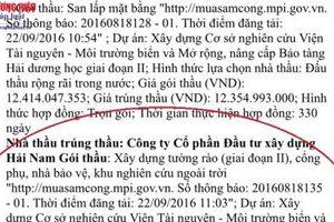 Đi tìm lời giải cho những dự án 'bánh vẽ' của công ty CP ĐTXD Hải Nam?