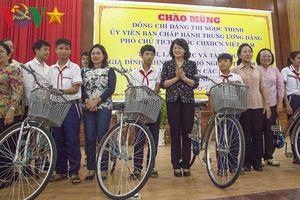 Phó Chủ tịch nước làm việc tại Kiên Giang
