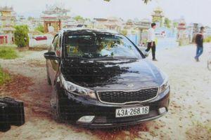 Bắt taxi từ Quảng Nam ra Đà Nẵng trộm ô tô