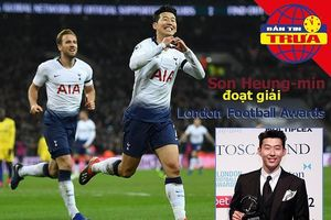 Son Heung-min đoạt giải ở London, thầy Park vi hành phố núi