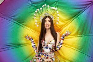Đỗ Nhật Hà lọt Top 12 phần thi tài năng tại Miss International Queen 2