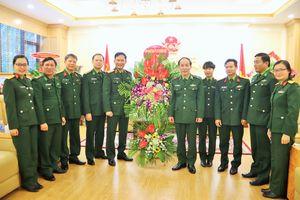 Các cơ quan, đơn vị chúc mừng BĐBP nhân dịp kỷ niệm 60 năm Ngày Truyền thống