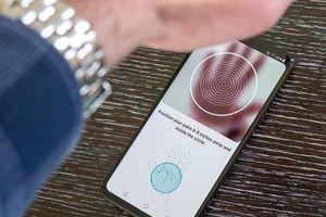 LG G8 ThinQ: Smartphone mở khóa bằng tĩnh mạch