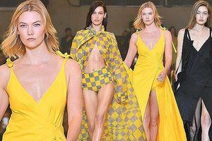Karlie Kloss và chị em Hadid thả dáng tuyệt mỹ trên sàn catwalk