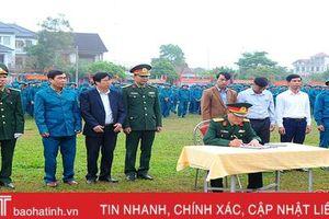 Hương Sơn, Nghi Xuân ra quân huấn luyện năm 2019