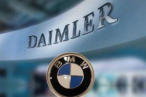 BMW và Daimler thông báo sẽ hợp tác để phát triển hệ thống tự lái