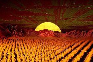 Thưởng thức màn trình diễn nghệ thuật xếp hình Arirang của Triều Tiên