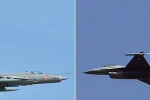 Ấn Độ xác nhận MiG-21 bắn hạ chiến đấu cơ F-16 của không quân Pakistan