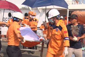 Tìm thấy thi thể cuối cùng trong vụ tàu EVEREST 6 va chạm với tàu cá Bình Định