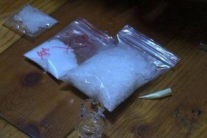 Bình Dương: Bắt giữ một nhóm đối tượng buôn ma túy có hung khí