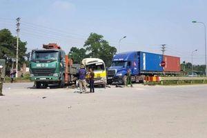 Bắt tạm giam lái xe tải gây tai nạn liên hoàn trên đại lộ Thăng Long