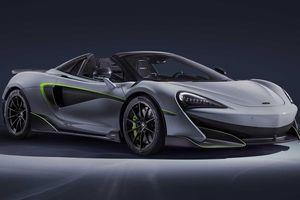 Cận cảnh Mclaren 600LT Spider MSO chuẩn bị ra mắt tại Geneva Motorshow