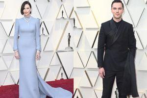 'Nam thanh nữ tú' nhà Dior: Charlize Theron và Nicholas Hoult tỏa sáng trên thảm đỏ Oscar 2019