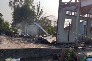 Hỏa hoạn thiêu rụi 3 căn nhà khiến một người chết ở Bạc Liêu