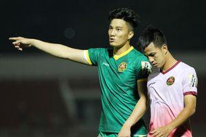 Cựu thủ môn U23 Việt Nam được khen trong lần đầu bắt chính V.League