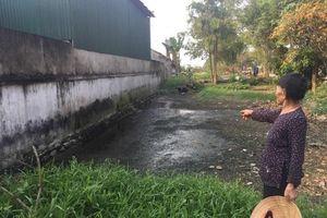 Hàng trăm hộ dân khốn khổ khi sống gần lò mổ gia súc