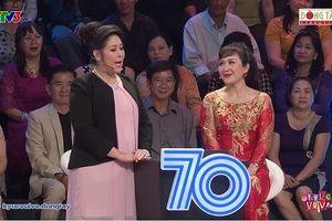 Hồng Vân 'đánh ghen' Minh Hòa trên sóng truyền hình
