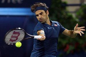 Roger Federer 'tốc hành' vào chung kết Dubai Open