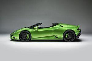 Cận cảnh siêu xe mui trần Lamborghini mạnh 630 mã lực, giá gần 7 tỷ