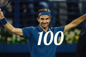 Đòi nợ thành công, Roger Federer chính thức cán mốc 100 danh hiệu