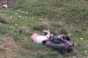 Bàng hoàng phát hiện nam thanh niên tử vong cạnh xe máy dưới bờ đê