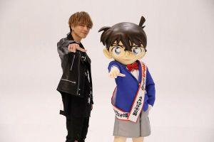 Tosaka Hiroomi lần đầu tiên hát ca khúc chủ đề cho anime movie 'Detective Conan'