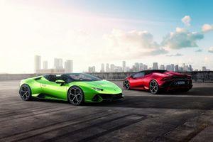 Lamborghini ra mắt phiên bản mui trần của Huracan EVO