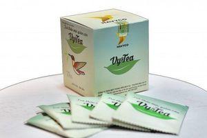 Thu hồi trà giảm cân Vy&Tea có chứa chất cấm