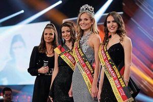 Nhan sắc gây tranh cãi của nữ cảnh sát vừa đăng quang Hoa hậu Đức 2019