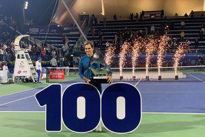 Dubai Championships: 'Ân đền oán trả' Tsitsipas, Federer 'hết thời' thắng danh hiệu lịch sử thứ 100