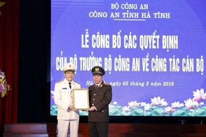 Cựu Đại tá biên phòng giữ chức Giám đốc Công an tỉnh Hà Tĩnh